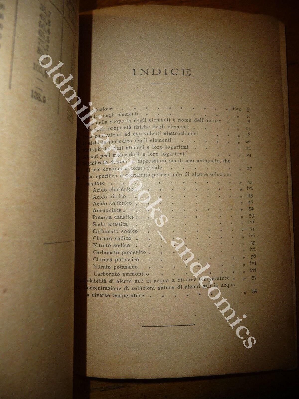 FORMULARIO DI CHIMICA INORGANICA ANGELO COPPADORO s.d. ma 1868