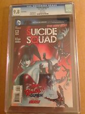 CGC 9.8 Suicide Squad #6 Second Printing Variant Cover New Harley Quinn origin