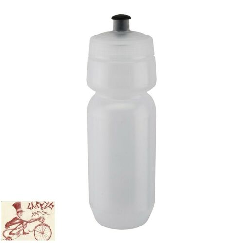 CALIFORNIA BIKE GEAR EXTREME 28oz FROSTED CLEAR WATER BOTTLE