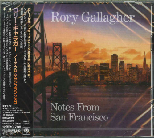 RORY GALLAGHER-NOTES FROM SAN FRANCISCO-JAPAN 2CD BONUS TRACK I45