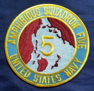 United-States-Navy-Amphibious-Squadron-Five-PHIBRON-5-Navy-Military-Patch