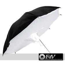 85cm Photo Umbrella - SOFTBOX - white / black - F&V