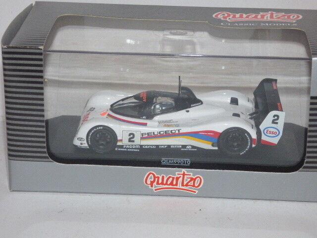 QUARTZO Peugeot 905 Baldi Alliot Jabouille 24H DU Mans 1992 Ref QLM99010