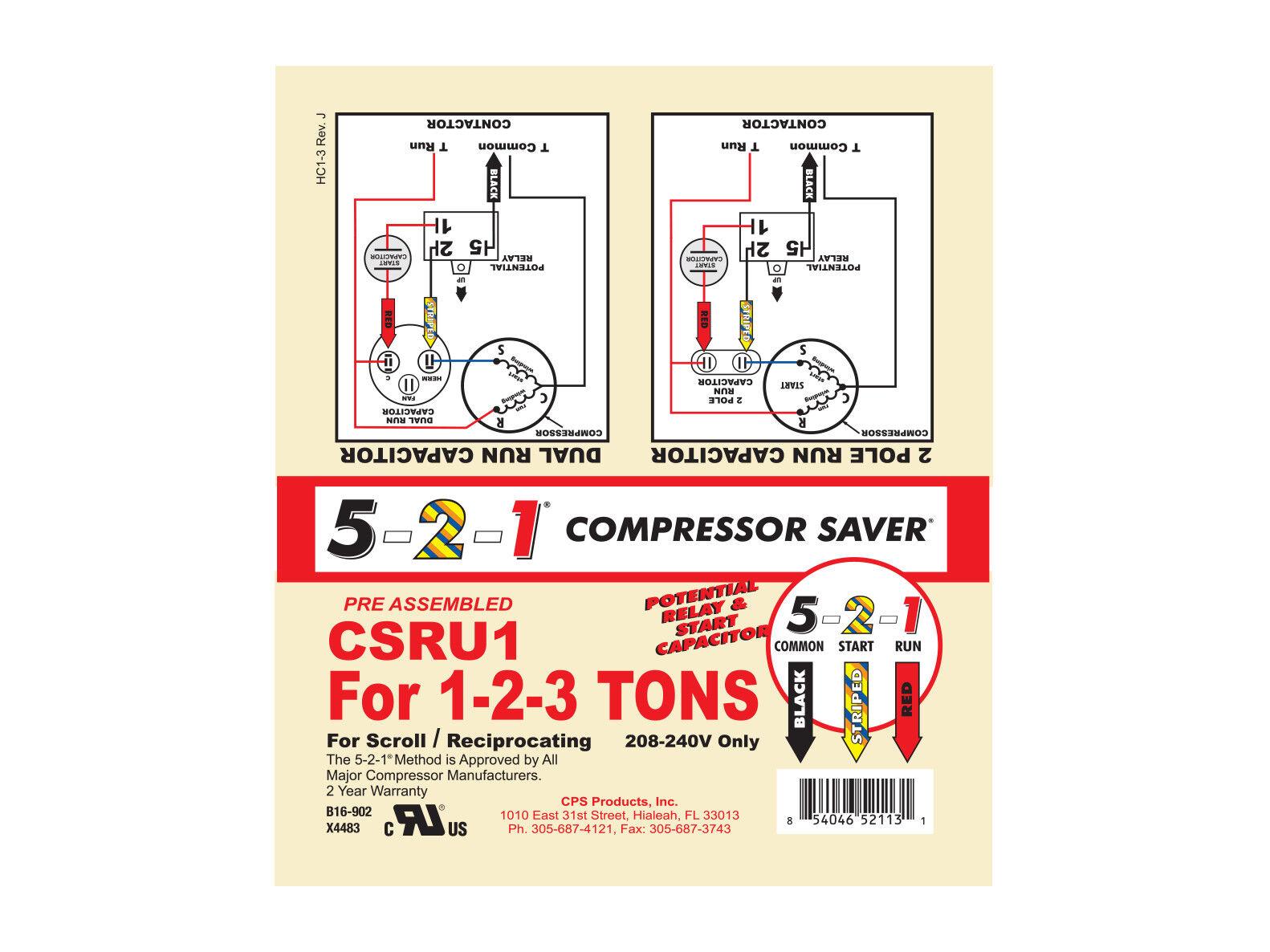 Farad Capacitor Wiring Diagram Power Acoustik Diagrams Source Compressor Saver U Hard Start Ebay Com At Res Content