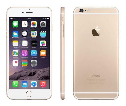 apple iphone 6 plus 128gb gold unlocked smartphone. Black Bedroom Furniture Sets. Home Design Ideas