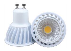 LED-GU10-7W-Spot-Warmweiss-Spot-Einbauleuchte-Leuchtmittel-Dimmbar-3000K
