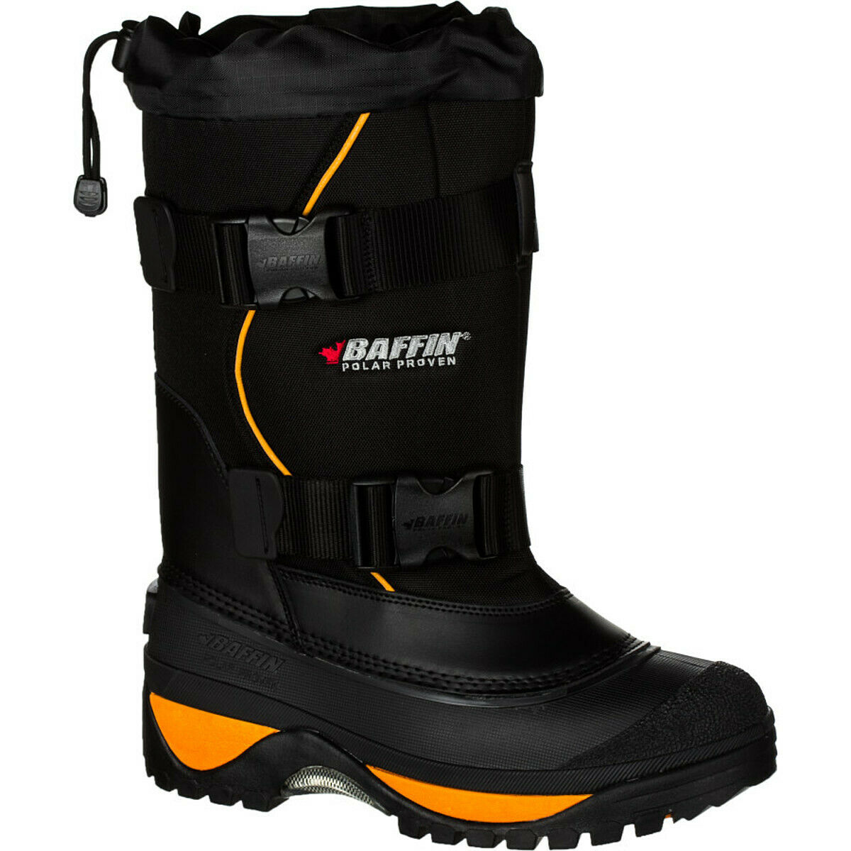 Baffin Wolf Winter Boot - Men's Black/Expedition Gold 7.0