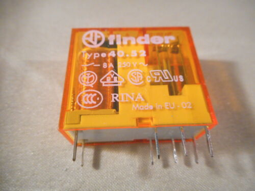 24VDCl Finder Relay 40.52.8.024.0000 PCB plug-in relay NIB