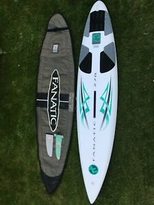 Fanatic Shark 278 Windsurf Board And Bag Volume 105l Ebay