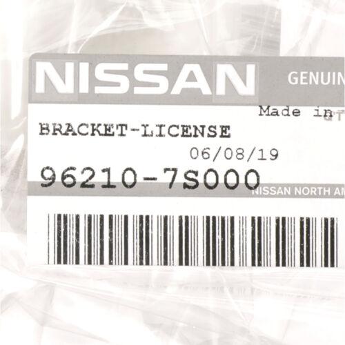 2004-2012 Nissan Titan /& Armada Front License Plate Bracket Mount Holder OEM NEW