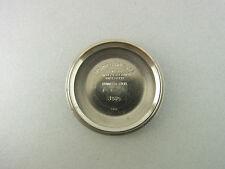 Rolex Oyster Perpetual Date Deckel Ref. 1505 I/68 Steel Case Back Vintage