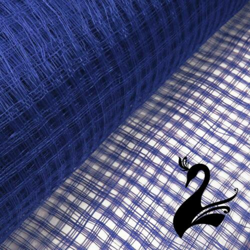 "Mi Lattice Basket Weave 36/""//91cm ***PRICE PER 50CM*** Sinamay Straw Fabric"