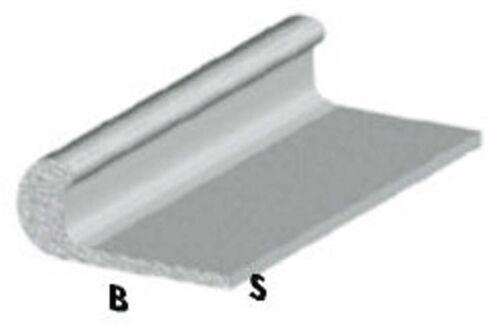 profilo unghietta cm 200 h argento silver 18x1 mm asta profili alluminio