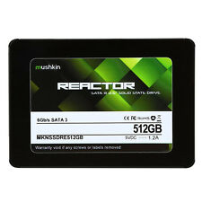 "Mushkin Reactor 512GB 2.5"" SATA III MLC Internal Solid State Drive MKNSSDRE512GB"