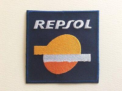 A266 PATCH ECUSSON REPSOL MOTOR OIL 8*8 CM