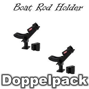 Doppelpack-Berkley-Bootsrutenhalter-Boat-Rod-Holder