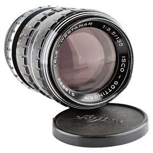 ISCO-GOTTINGEN-TELE-WESTANAR-1-3-5-135mm-BLACK-35mm-FILM-CAMERA-LENS