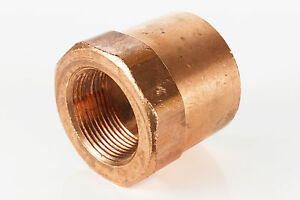 "1-1//2/"" x 3//4/"" Copper Coupling Reducer CxC Sweat Plumbing Fitting 5 Pieces"