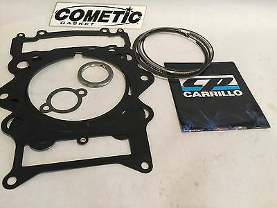 Grizzly Rhino 700 Complete 105.5mm 734 780 Big Bore Gaskets Kit Set Top Bottom