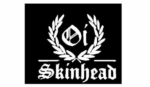 Skinhead Man sitting Sulking Music Vinyl wall art Decal Sticker