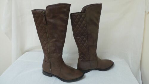 Bongo Womens Bailey Riding Boots-Style 20400-Brown 6E New