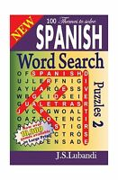 Spanish Word Search Puzzles 2 (volume 2) (spanish Edition) Free Shipping