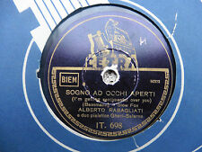 Alberto Rabagliati - Sogno ad occhi aperti / Mamma c'è la luna - 78 giri
