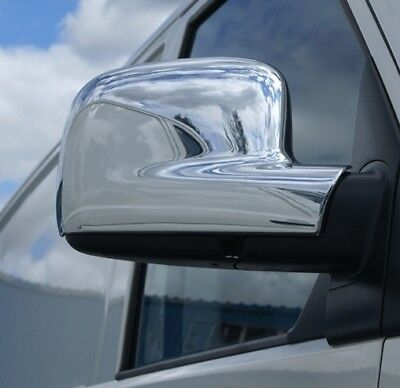 RHD VW T5 MULTIVAN 2003-2010 Chrome Mirror Cover 2Pieces Stainless Steel