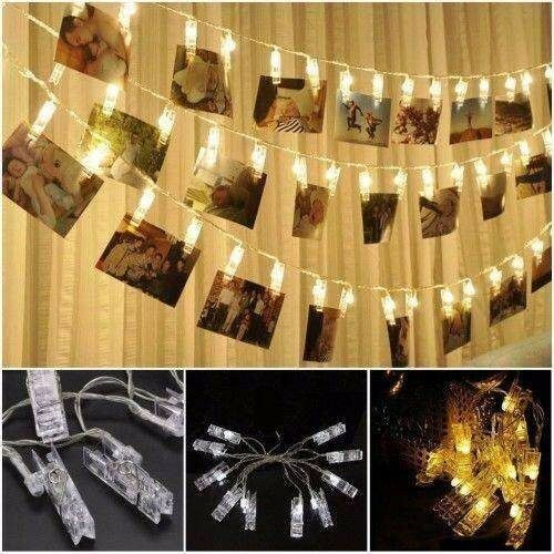 Photo Clip String Lights 4 meters