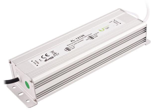 LED Trafo Aussen Driver Treiber Vorschaltgerät Netzteil 230V - 12V 12,5A 150W