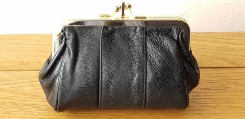 Tasca Monete stile Pouch Borsa donna in pelle Nappa Reale retrò vintage