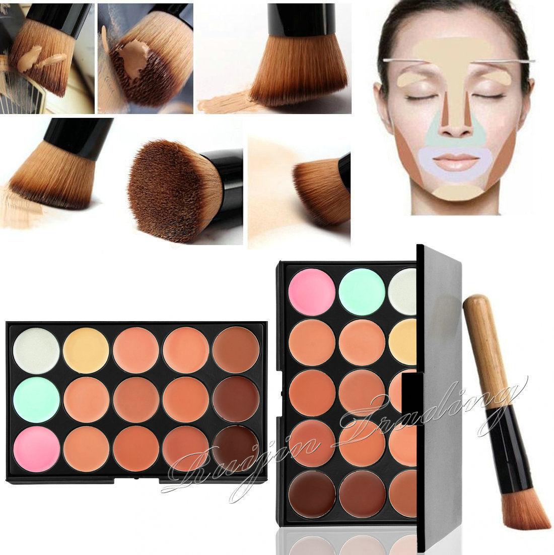 15 farben pro abdeckcreme kontur face creme make up. Black Bedroom Furniture Sets. Home Design Ideas