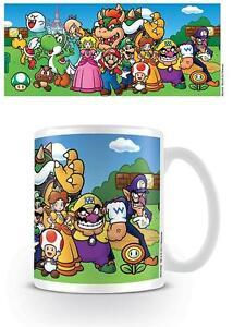 Nintendo-Super-Mario-CARATTERI-Tazza-NUOVO-SCATOLA-REGALO-100