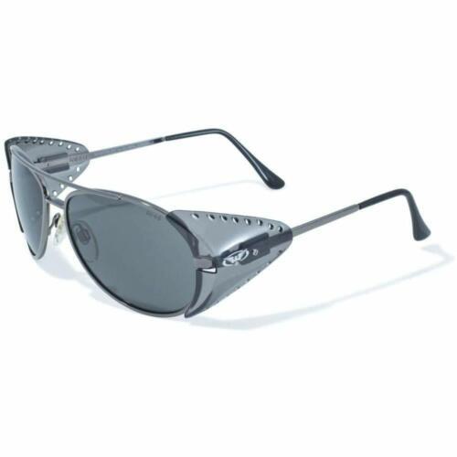 2 Global Vision Aviator Z87 Safety Glasses  Side Shields Clear Lens /& Smoke Lens