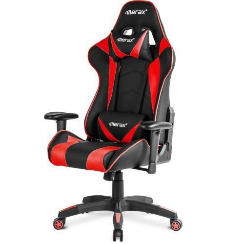 Merax-Gaming-Chair-High-Back-Computer-Ergonomic-Design-Racing-Red-Christmas-Gift
