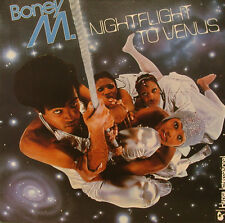 "BONEY M. NIGHTFLIGHT TO VENUS HANSA INTERNATIONAL 12"" INCH LP (h538)"