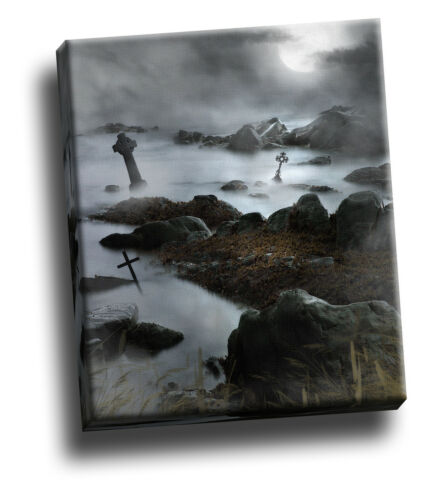 Dark Waters Marsh Gothic Giclee Canvas Wall Decoration Picture