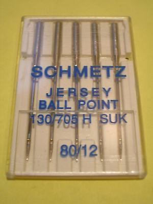 2 Packs Genuine BERNINA machine à coudre Universel Double Aiguilles 130//705H