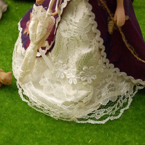 1pc Casa De Bonecas Miniatura Escala 1:12 Boneca De Porcelana Vitoriana Dama Mulher