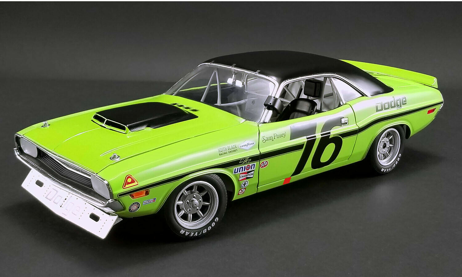 ACME 1970 Dodge Challenger Trans Am Sam Posey New ItemNICE