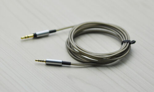 Replace Silver Plated Audio Cable For Sennheiser PXC450 PXC350 PC350 PXC480 550
