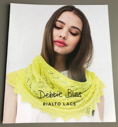 Debbie Bliss Knitting Pattern Rialto Lace DB005 v.2 Lace Edged Cowl