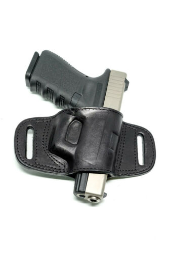 QUICK DRAW BELT SLIDE HOLSTER FOR SIG SAUER P229 BLACK BROWN RIGHT HAND