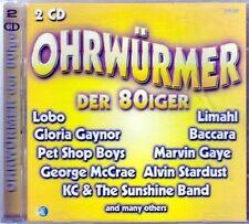 Ohrwürmer der 80iger (36 tracks) Gloria Gaynor, Nolans, Eddy Grant, Aud.. [2 CD]