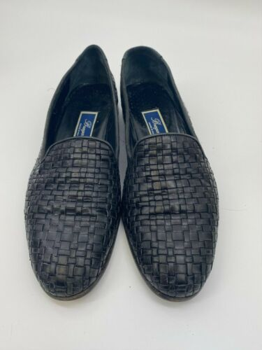 BRAGANO ITALIAN WOVEN LEATHER LOAFERS