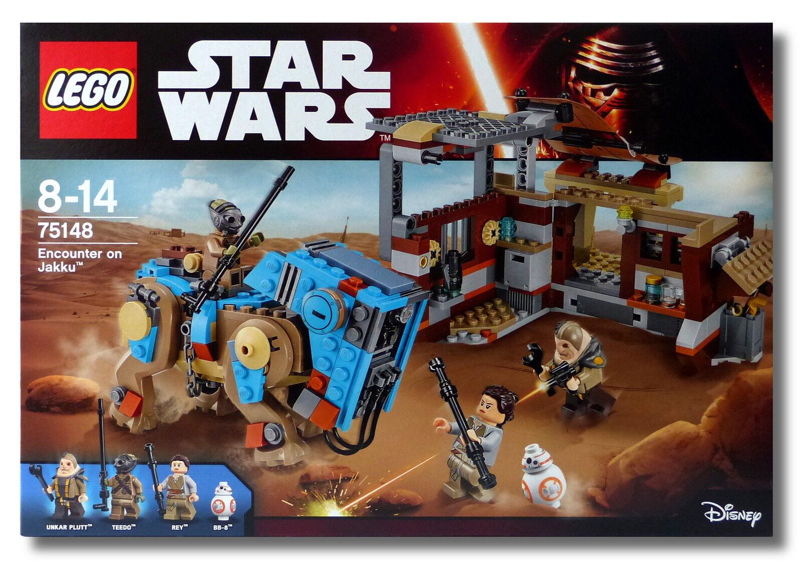 Lego Lego Lego ® Star Wars ™ 75148 Encounter on Jakku ™ rey bb-8 nuevo en el embalaje original New misb  diseñador en linea
