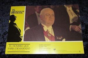 L'uomo che sapeva troppo LOBBY CARD # 2-Alfred Hitchcock