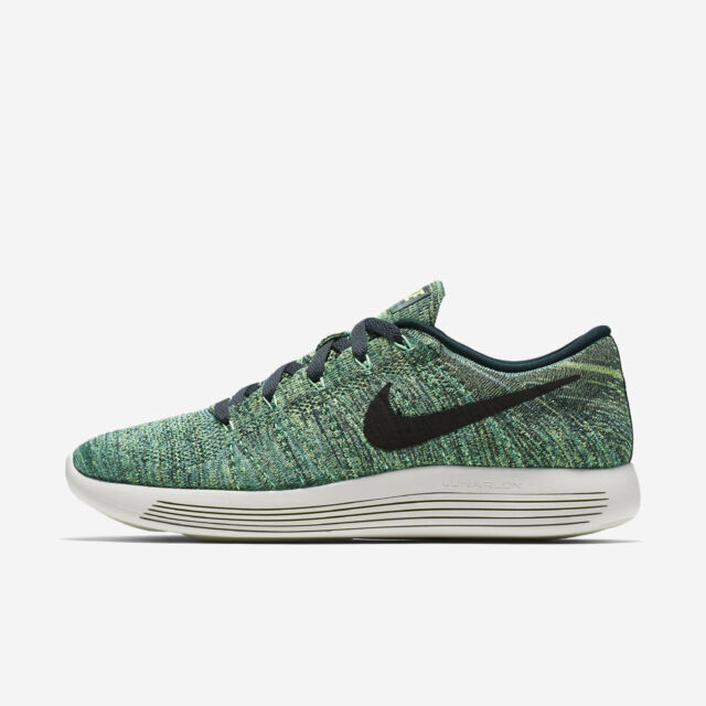 Men s Nike Lunarepic Low Flyknit Sz 10-13 Seaweed Black 843764-300 FREE d6669c5ef