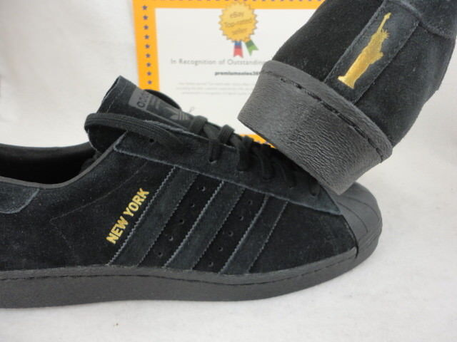 adidas superstar new york noir