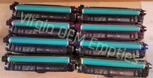 CF363A Toner Cartridges FREE SHIP 508A 8 sets Virgin Genuine Empty HP CF360A